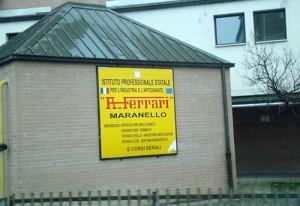 Escuela Ferrari en Maranello.