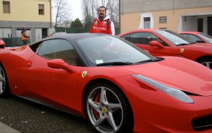 Leonardo Pizzano, colaborador de Cosas de Autos en Uruguay, en Italia.