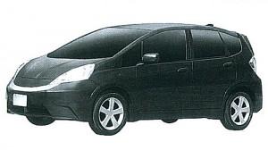 Registro del Honda Fit EV en el INPI.