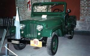 Primer Jeep IKA en el Museo de la Industria, Córdoba