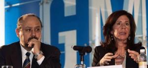 Ernesto Hernández junto a Grace Lieblein. Foto: Zócalo