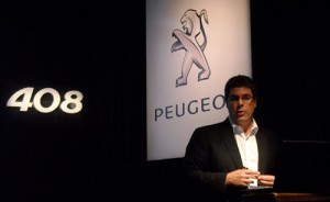 Pablo Averame, responsable de Marketing de Peugeot Argentina