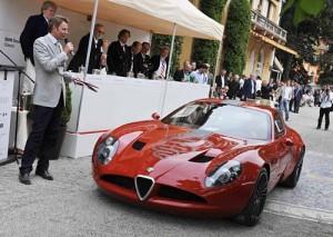 Alfa Romeo TZ3 Corsa en Villa d'Este 2010