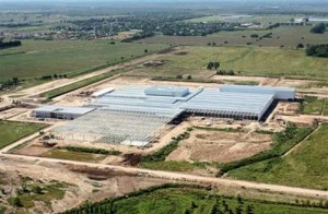 Fábrica de Honda en Campana.