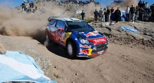 Loeb ganó por sexta vez en Argentina.