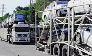 Camiones mosquito en la frontera con Brasil - Foto: Clarín