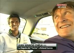 El Torino que llevó a Chela a su partido con Murray en Roland Garros.