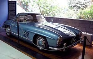 Mercedes 300SL en el Museo Fangio