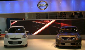 Stand de Nissan