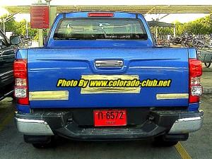 Chevrolet Colorado 2012 vista en Tailandia - Foto: Thaispyshot.com