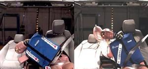 General Motors presentó el primer airbag delantero central