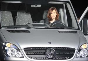 Cristina Fernández sobre la nueva Sprinter que se producirá en Argentina.