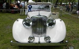 Jaguar MK IV 1947 Drophead Coupe, segundo premio de Autoclásica 2011