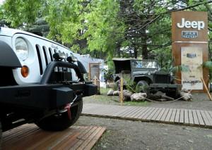 Stand de Jeep en Autoclásica 2011