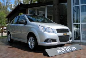Chevrolet presentó el Aveo G3;