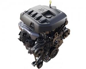 Motor Duramax 2.8 de la nueva Chevrolet Colorado presentada en Tailandia. Foto: GM