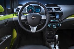 Chevrolet Spark 2012 para el mercado estadounidense.