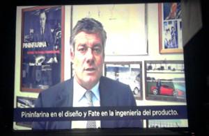 Paolo Pininfarina habla del trabajo con Fate.