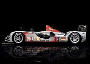 Audi R15 TDI de Le Mans