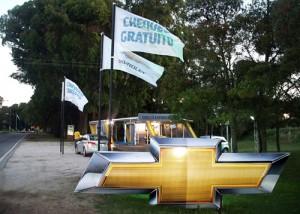 Chevrolet presente en Pinamar