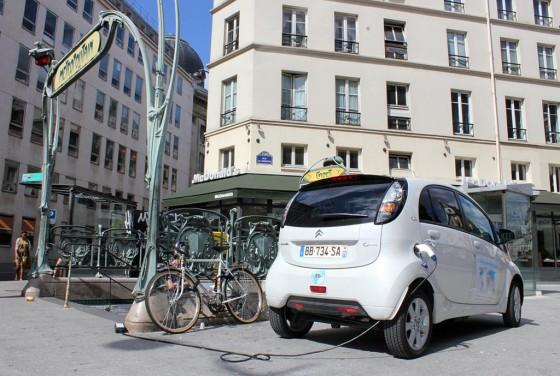 Citroën C-Zero del Electric Odyssey.