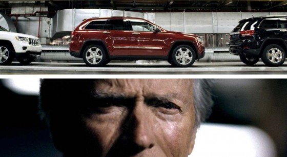 Clint Eastwood en el comercial de Chrysler del Super Bowl XLVI.