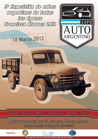 Tercera edición de Expo Auto Argentino