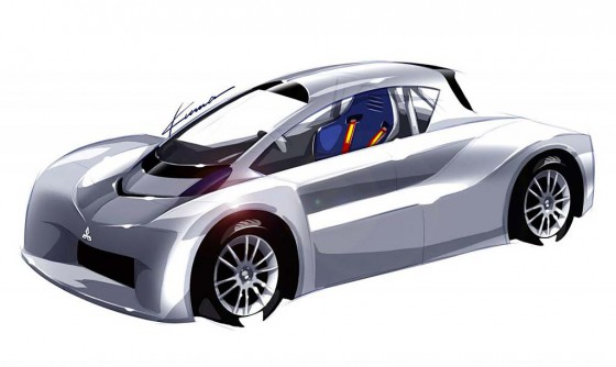 Prototipo del Mitsubishi i-miev para Pikes Peak 2012