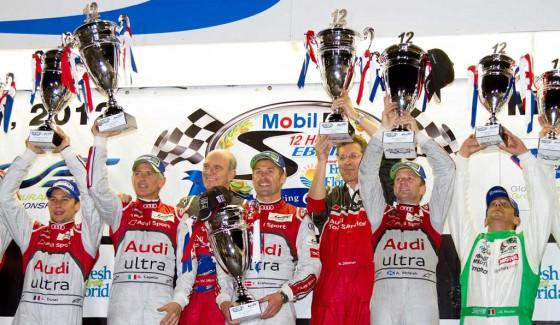 Audi logró el 1-2 en la edición 60 de Las 12 Horas de Sebring.