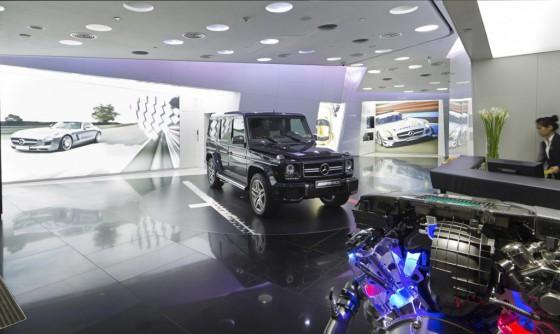 El primer concesionario exclusivo de AMG ianuguró en Beijing, China.