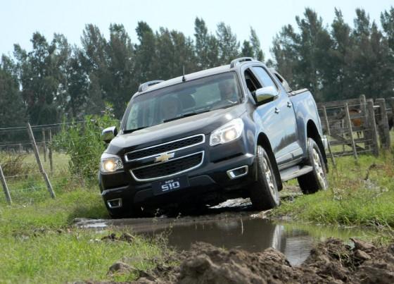 Nueva Chevrolet S-10.