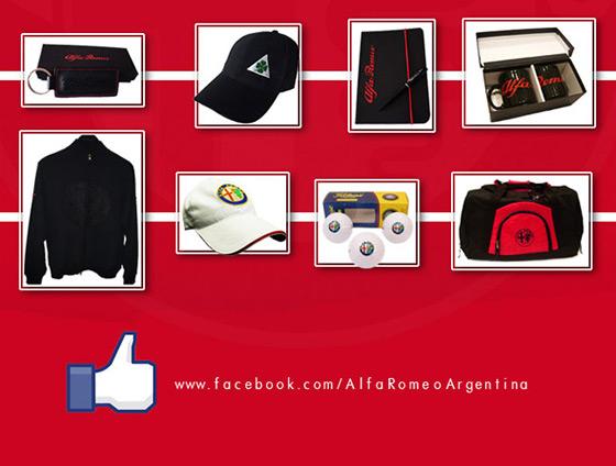 Alfa Romeo: merchandising oficial con 40% de descuento