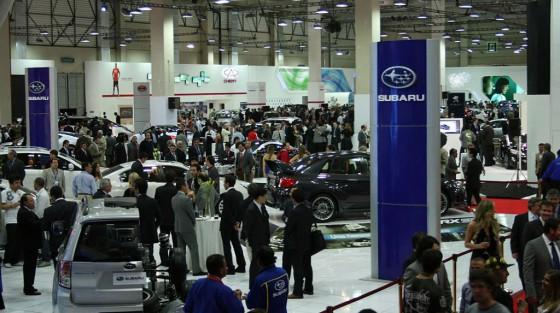 Una postal del Salón del Automóvil de Santiago 2010