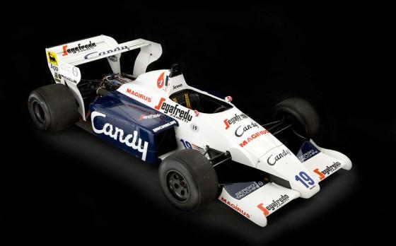 Toleman-Hart de Fórmula 1 que corrió Ayrton Senna