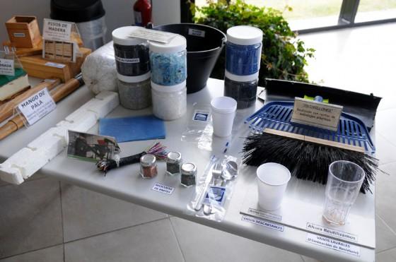 Exposición de la modalidad de reciclado selectivo de GM Argentina.