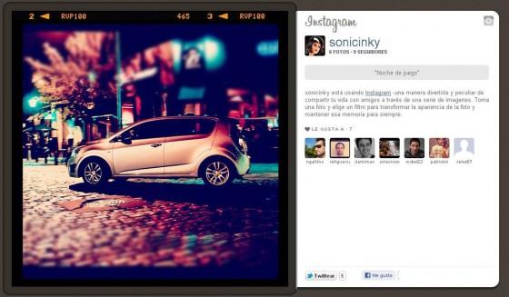 Chevrolet asocia al Sonic a las redes sociales y la música