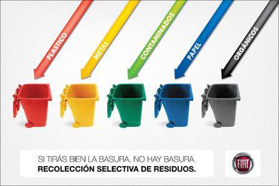 Fiat Argentina recicla el 98% de sus residuos; planea llegar al 100% en 2014