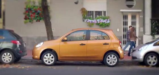 Comercial argentino del Nissan March