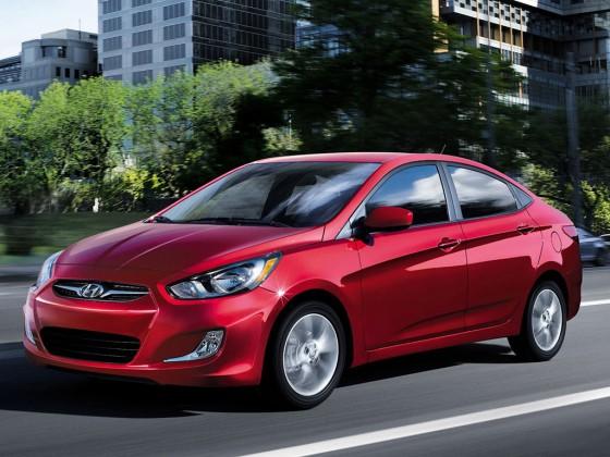 Hyundai Accent 2013.