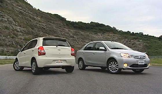 Toyota Brasil muestra el Etios en detalle