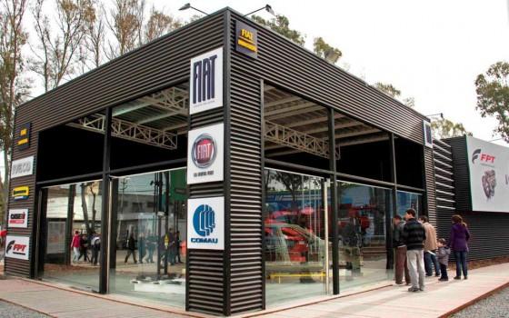 Fiat está presente en Tecnópolis