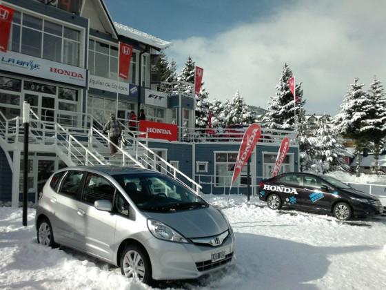 Honda Winter Experience 2012 en Cerro Catedral