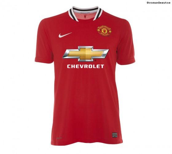 Chevrolet estará en la camiseta del Manchester United desde 2014.