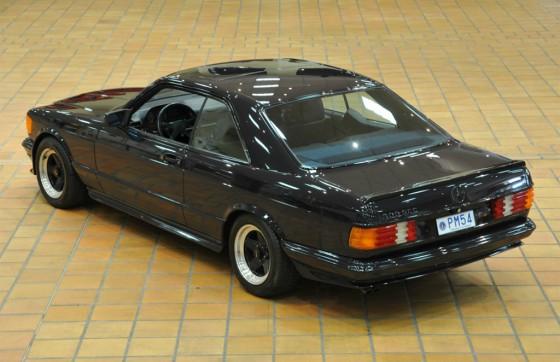 El Mercedes-Benz 500 SEC AMG de 1983 con apenas 8.400 km de Rainiero.