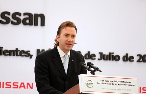 José Luis Valls, presidente y director general de Nissan Mexicana.