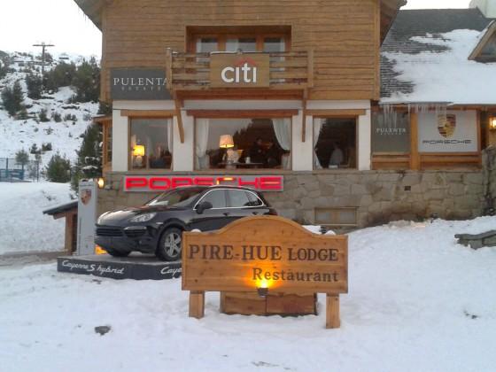 Porsche renueva su presencia en el Cerro Catedral