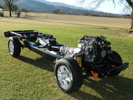 Chasis de la Nueva Ford Ranger