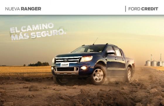 Ford ofrece la nueva Ranger financiada con tasa fija y hasta en 48 meses