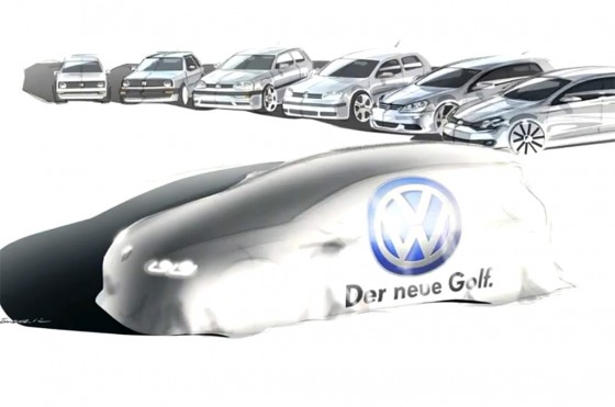 El Volkswagen Golf VII viene llegando: lo que trae de nuevo