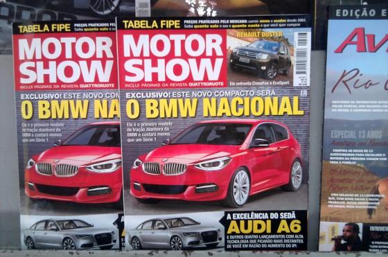 Tapa de la revista MotorShow de octubre de 2011. Foto: Cosas de Autos